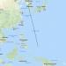 Flugstrecke nach Palau