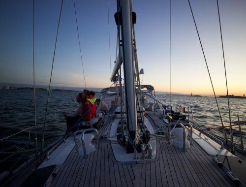 Sailing Naked Boot